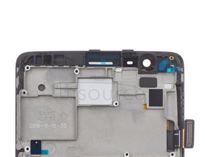 OEM Screen Replacement with Frame for OnePlus 3/3T Black