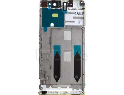 OEM LCD Supporting Frame for Sony Xperia XA Ultra Lime Gold