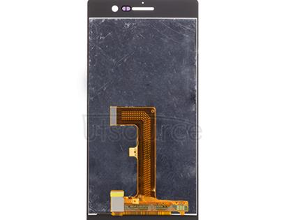 OEM LCD Screen with Digitizer Replacement for Huawei Ascend P7 White