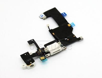OEM Dock Connector Assembly for iPhone 5 White