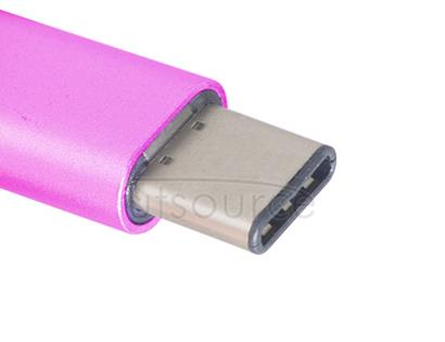 Metal USB Type-C to Micro USB Adapter for OnePlus Two Magenta