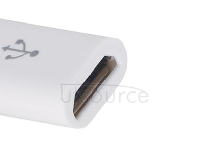 Plastic USB Type-C to Micro USB Adapter for OnePlus Two White