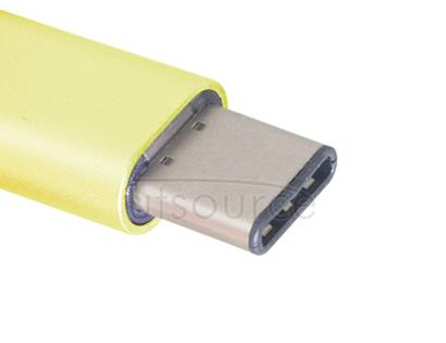 Metal USB Type-C to Micro USB Adapter for OnePlus Two Yellow