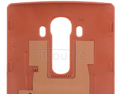 Custom Leather Battery Cover for LG G4 Orange LG G4 Battery Back Cover replacement can replace your scratched and damaged back cover, which can greatly protect your LG G4 battery and other inside parts.
