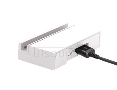 Micro USB Charging Dock White