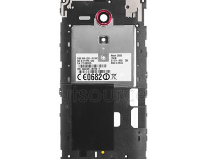 OEM Back Frame for Sony Xperia SP Red