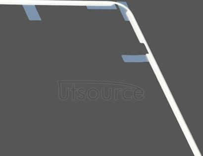 OEM LCD Screen Frame with Adhesive Sticker for iPad 2 White