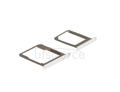 OEM SIM + SD Card Tray for Samsung Galaxy A5 SM-A500 White