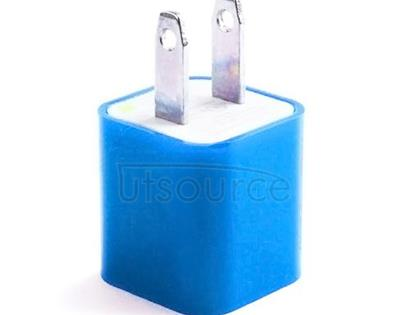 US Standard Charger for iPhone/iPad/iPod Blue