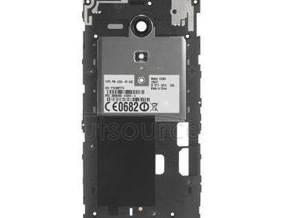 OEM Back Frame for Sony Xperia SP Black