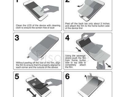 Anti-Glare Screen Protector for Sony Xperia Go
