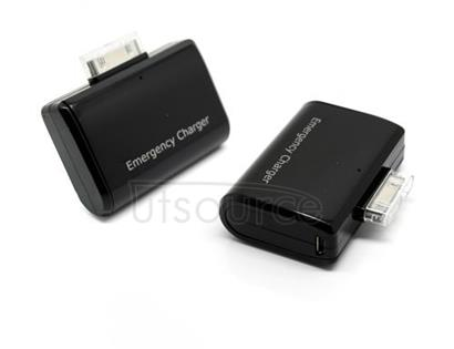 Emergency Charger for iPhone/iPod except Shuffle