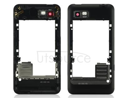 OEM Back Frame for Motorola Motoluxe Black