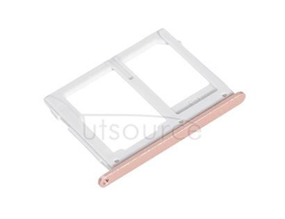 OEM SIM + SD Card Tray for Samsung Galaxy A9(2016) Pink