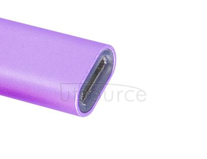 Metal USB Type-C to Micro USB Adapter for OnePlus Two Purple
