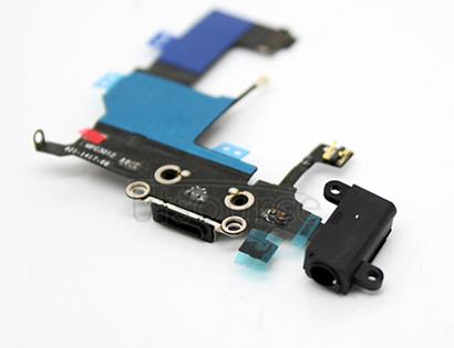 OEM Dock Connector Assembly for iPhone 5 Black