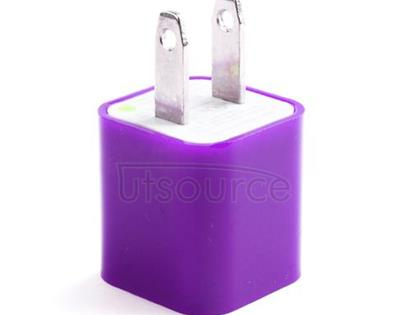 US Standard Charger for iPhone/iPad/iPod Purple