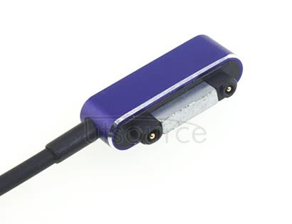 Custom Magnetic Charging Cable for Sony Smartphone Purple
