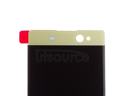 OEM LCD Screen with Digitizer Replacement for Sony Xperia XA Ultra Lime Gold