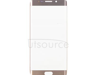 OEM Front Glass for Samsung Galaxy S6 Edge Plus Gold