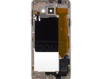 OEM Middle Frame for Samsung Galaxy A7(2016) Gold