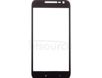Custom Front Glass for Motorola Moto G4 Play Black