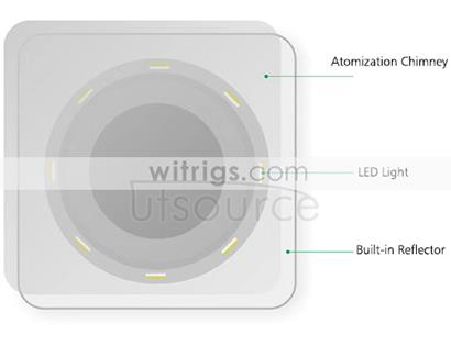 Universal Charger with Night Light White
