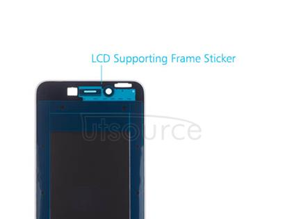 OEM LCD Supporting Frame for Huawei Honor 6C Pro White/Gold