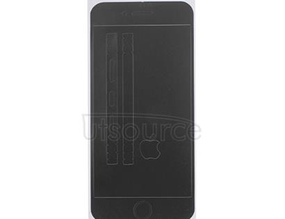 Full Front Screen Protector + Back Skin Sticker Set for iPhone 6/6S Black