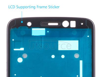 OEM LCD Supporting Frame for Motorola Moto E4 Iron Gray
