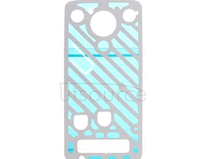 Custom Back Cover Sticker Replacement for Motorola Moto Z Play Motorola Moto Z Play Back Cover Sticker replacement is used to replace your damaged and unusable back cover adhesive. This one comes with adhesive sticker.