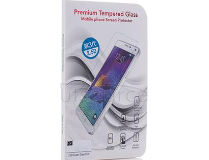 Super Tempered Glass Screen Protector for HTC One M9 Transparent