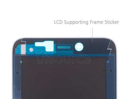 OEM LCD Supporting Frame for Xiaomi Redmi 4X White/Gold