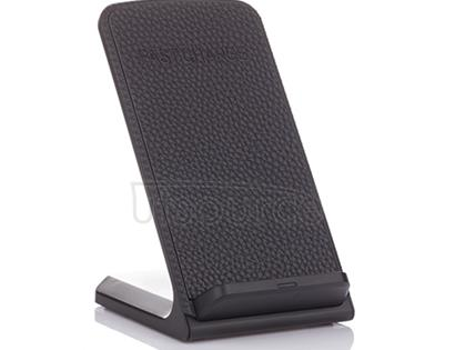 2-Coils Wireless Charging Stand Black