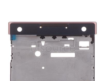 OEM LCD Supporting Frame for Sony Xperia XA1 Pink