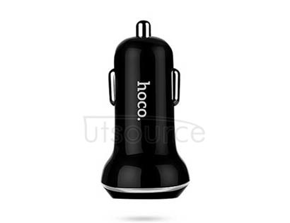 HOCO Z1 Double-ported Car Charger Black