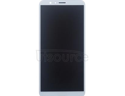 Custom Screen Replacement with Frame for Huawei Honor 7X White