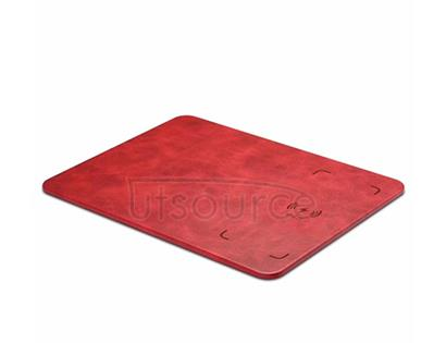 Q12 Wireless Charging Mouse Pad Red