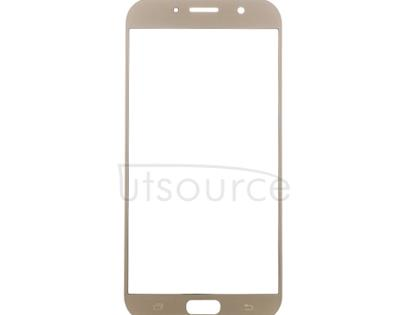 Custom Front Glass for Samsung Galaxy A7 (2017) Gold Sand