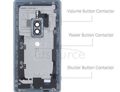 OEM Back Housing for Sony Xperia XZ2 Premium Chrome Silver