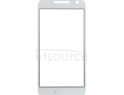 Custom Front Glass for Motorola Moto G4 Play White