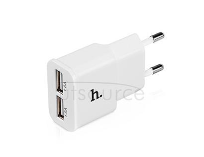 HOCO UH202 Double USB Charger (EU) White