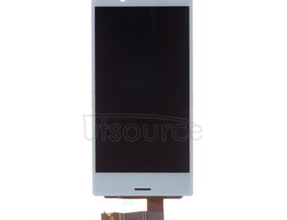 Custom LCD Screen with Digitizer Replacement for Sony Xperia X Compact Mist Blue