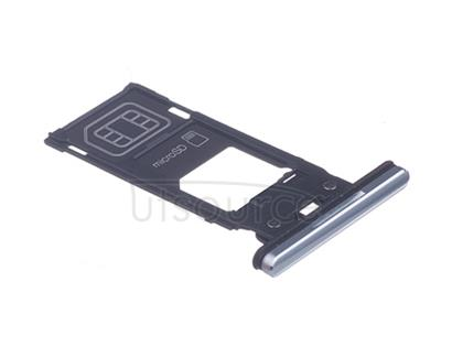 OEM SIM Card Tray + SIM Cover Flap for Sony Xperia XZ2 Premium Chrome Silver Sony Xperia XZ2 Premium SIM Card Tray + SIM Cover Flap can replace your scratched and got loose card tray. This Sony XZ2 Premium card tray comes with sim tray and sim card cover flaps.