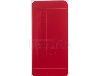Full Front Screen Protector + Back Skin Sticker Set for iPhone 6/6S Red