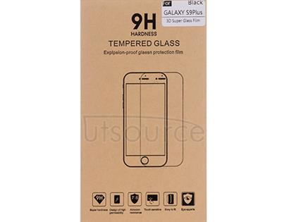 3D Full-covered Screen Protector for Samsung Galaxy S9 Plus Black/Transparent