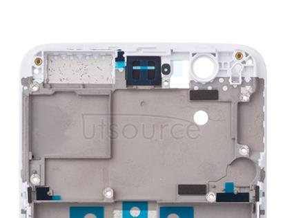 OEM LCD Supporting Frame for OnePlus 5 White