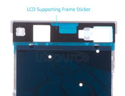 OEM LCD Supporting Frame for Sony Xperia XA1 Ultra White