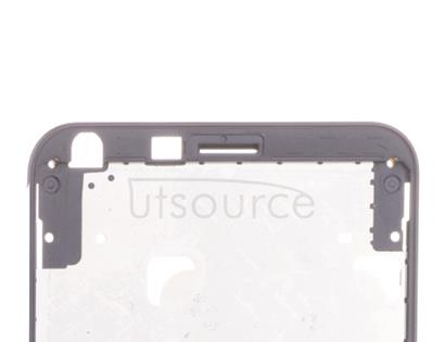 OEM LCD Supporting Frame + Mesh for LG Q6 Astro Black