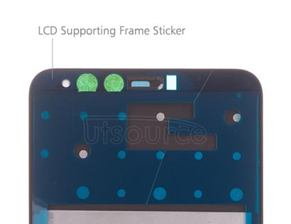 OEM LCD Supporting Frame for Huawei Y9 (2018) Black